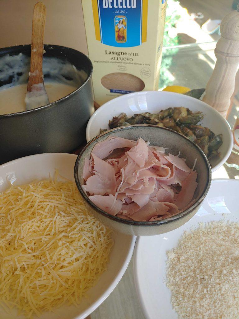 Lasañas ingredientes
