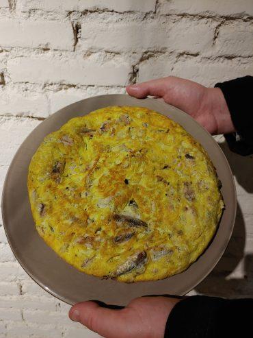tortilla de boquerones